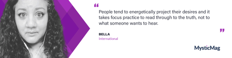 Diving into the Art of Psychic Reading, with Bella of the Bella International