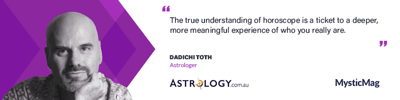 Dadhichi M. Toth, Founder and CEO of astrology.com.au
