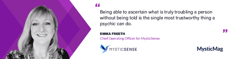 Interview With Emma Freeth, the COO of MysticSense