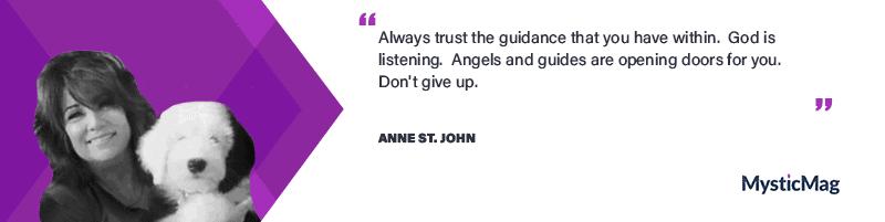 Interview with a Medium - Anne St. John