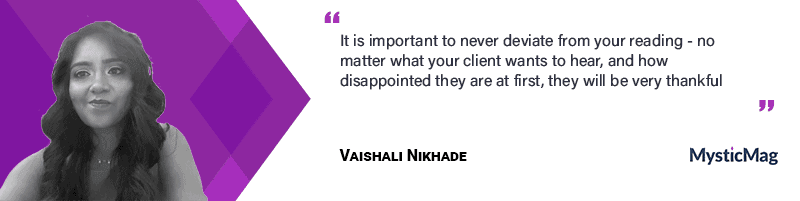 Interview with Vaishali Nikhade - a psychic clairvoyant reader
