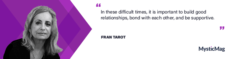Interview with a Psychic - Fran Tarot