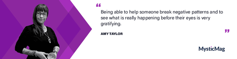 Interview with a psychic - Amy Taylor, a Tea Leaf and Card Reader