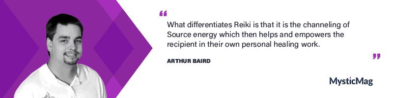 Interview with a Reiki Master - Arthur Baird