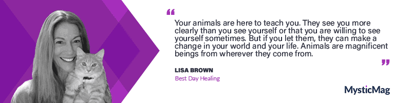 Communicating with pets and lions with Lisa Brown